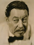Warner Oland, 1879_1938 was a Swedish_American actor remembered for his role as Chinese detective, Charlie Chan. 1931 portrait