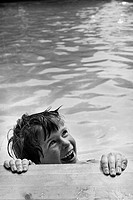 child in a swimming_pool, Sweden