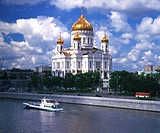 Russia, Moscow, Christ the Savior Cathedral