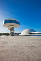Oscar Niemeyer Cultural Center, Aviles, Asturias, Spain