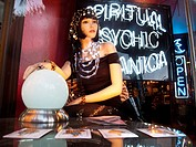 Psychic storefront display