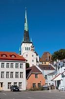 St  Olaf's church Oleviste kirik, Old Town, Tallinn, Harju, Estonia