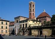 Italy, Tuscany, Lucca, S  Giovanni Church,