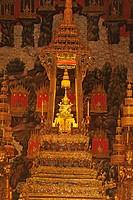 Emerald Buddha, Wat Phra Kaew, Grand Palace, Old, City, town, Bangkok, Thailand, Asia, Buddha