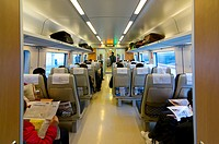 China train interior