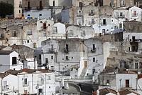 Italy, Apulia, Monte Sant Angelo, Junno District