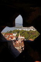 Trogir from the Cathedral of St Lovro Tower, UNESCO, Croatia, Europe