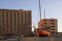 A SHIP IN DUBAI MUSEUM
