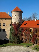 Castle at Pieskowa Skala, Poland