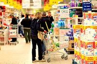 supermercato, torino, italia