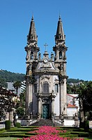 Kirche in Guimaraes, Portugal