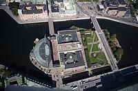 Rosenbad, aerial view