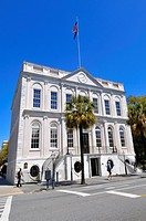 City Hall in historic downtown Charleston South Carolina SC built 1938