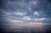 The ocean, Skane, Sweden.
