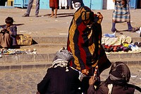 Sana'a Yemen Woman Shopping