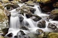 Lodore falls, Lake District, Cumbria, England