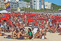 Ipanema Beach, Rio de Janeiro,Brazil