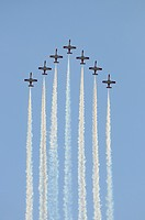 Patrulla Águila. Spanish Air Force Aerobatic Team.