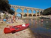 France, Pont Du Gard