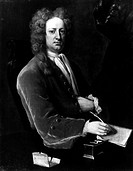 JOSPEH ADDISON (1672-1719).English essayist, poet, and statesman. Oil on canvas, 1719, by Michael Dahl.
