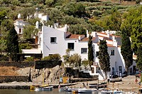 Casa-Museo Salvador Dalí. Port Lligat, small village located in a small bay on Cap de Creus peninsula, on the Costa Brava of the Mediterranean Sea, ne...