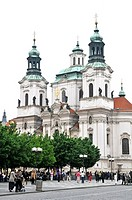 St Nicholas church, Prague, Czech Republic, Central Europe