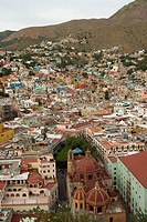 Overview of Guanajuato from the Monument to Pipila.