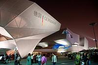 SHANGHAI _ MAY 24: EXPO Germany Pavilion. May 24