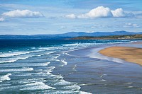 Waves On Beach, Bundoran, County Donegal, Ireland