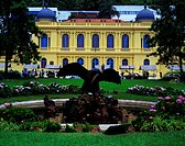 Former Residence Baron Guaraciaba, Yellow Palace, Petropolis, Rio de Janeiro, Brazil