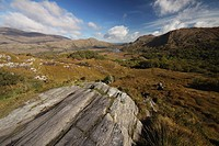 view of killarney national park in munster region, county kerry, ireland