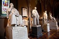 statues in christ church cathedral, dublin, county dublin, ireland