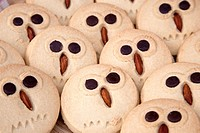 Owl Biscuits for sale on market stall