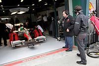 Jose Ramón Carabante, Vitantonio Liuzzi, Australian Grand Prix, Melbourne, Australia