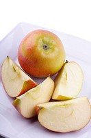 Apfel, cut