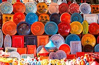 earthenware in the market