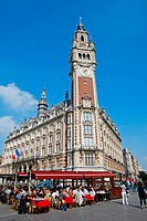 France, Nord, Lille, terraces