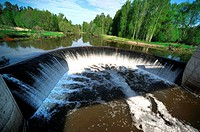 Lama - a river in the Moscow region of Russia, right tributary of Shoshi It follows from a small swamp near the village Sebenki Volokolam area, the es...
