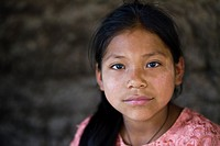 Guatemala, Mayan Girl