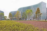 Japan, Tokyo, View of National Art Museum