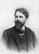 ARTHUR SCHNITZLER(1862-1931). Austrian physician and writer. Photographed c. 1900.