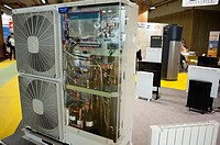 Paris, France, Heat Exchange Unit at Industrial Trade Show, 'Foire de Paris' Products on Display