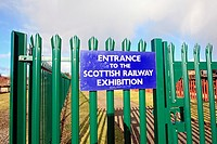 Scottish Railway exhibition, Boness