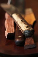 Old Wooden Handled Knives