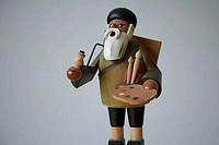 Wooden toy artist