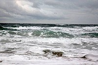 Panoramic view of the sea, Salisbury Beach State Reservation, Salisbury, Massachusetts, USA
