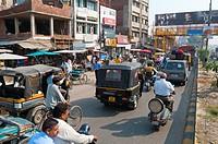 Street scene, Amritsar, Punjab, India, Asia