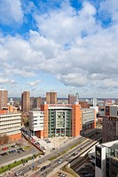 View of Matthew Boutlon College in Birmingham City Centre, West Midlands,