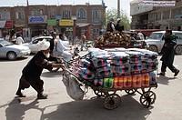 porter service in Herat, Afghanistan