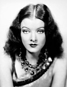 MYRNA LOY (1905-1993).American film actress.